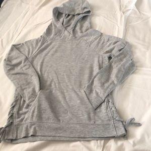 Gray girls hoodie